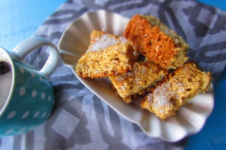 Bran Rusks baked with Coconut.