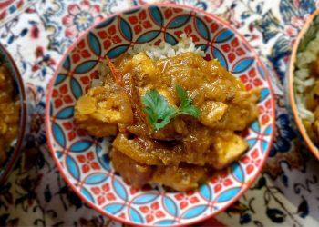 Chicken Marinated in Curried Buttermilk and Yogurt Sauce