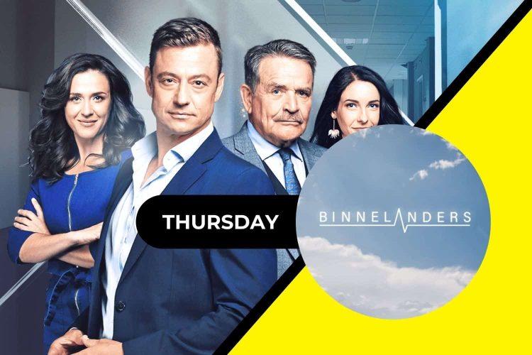 On today's episode of Binnelanders Thursday