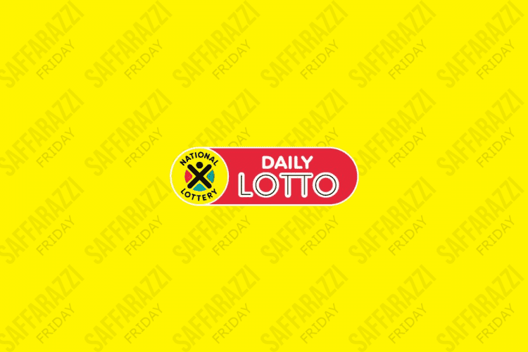 The Daily Lotto Results for Friday
