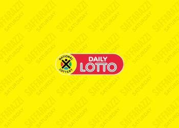 The Daily Lotto Results for Saturday