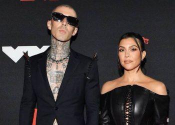 """Kourtney Kardashian says """"forever"""" with new fiancé, Travis Barker"""