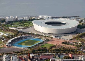 Sports venues open to spectators in South Africa