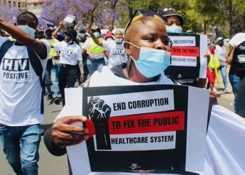 The Public is Fed Up with Health Department Corruption