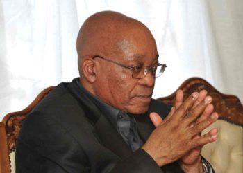 Jacob Zuma prayer