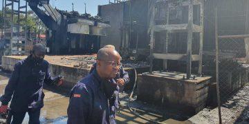 robertsham substation fire